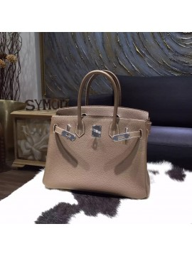 d94dfeb398 ... Replica Hermes Birkin 30cm Togo Calfskin Bag Original Leather  Handstitched
