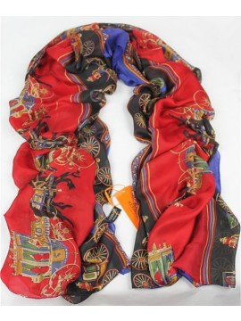 Fake Cheap Hermes Satin Silk Scarf - 10 RS06325